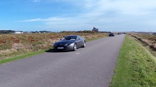 Aston Martin à Belle-île 2017