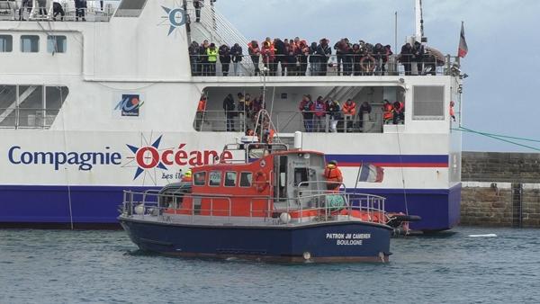 ORSEC maritime SAR BELLE-ILE 2016